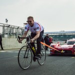 Pedal power Nissan GT-R LM