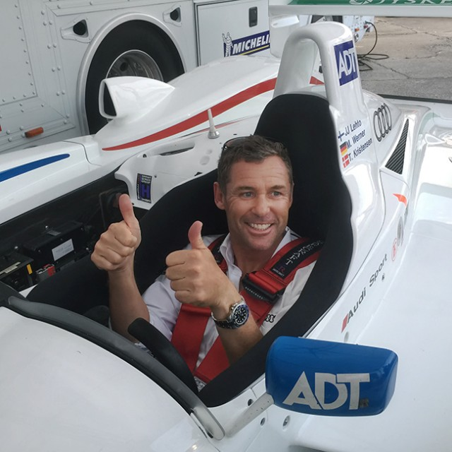 Tom-Kristensen-2005-Champion-R8-Seat-Fitting- Sebring-2016