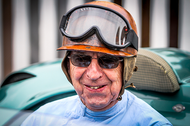 Tony reunited with his DBR1 at Goodwood - photo Pedro Dermaux