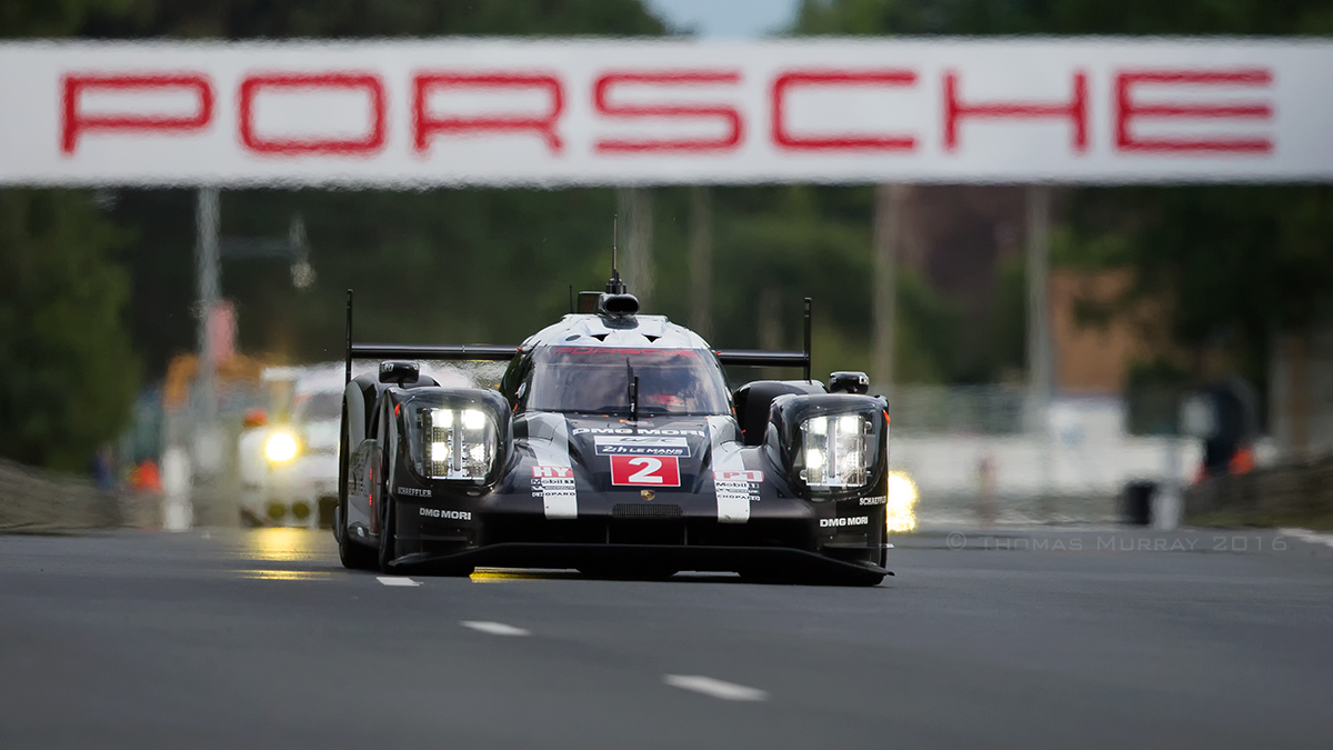 2016 Le Mans 24 Hour Race winner Porsche 919 car No.2 Winner photo by Thomas_Murray